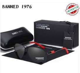 BANNED Men Brand Sunglasses High quality With Original Case