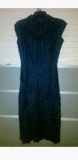 mango black dress s