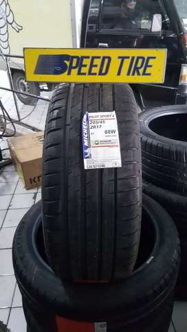 Promo Baru Ban Mobil 205/45 R17 Michelin Pilot Sport 4 Ertiga Xpander