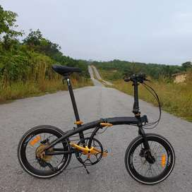 Sepeda lipat element ecosmo 10 limited edition