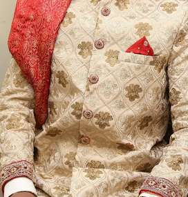 1 time used shirwani new condition small size