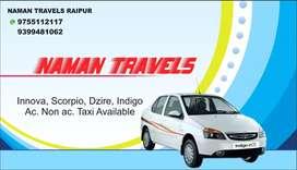 Naman travels raipur