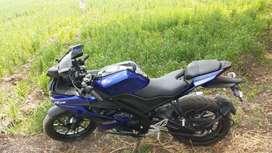 Yamaha r15 v3 abs 3 months old