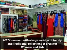 Ongoing Boutique/textiles for sale/@Mangalapuram,Trivandrum.