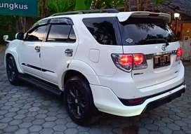 Pajak baru Gress Toyota Fortuner G vnt TRD 2013 akhir