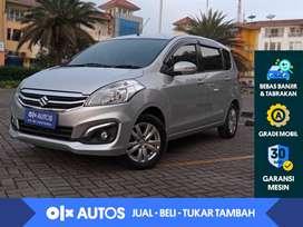 [OLX Autos] Suzuki Ertiga 1.4 GX M/T 2017 Abu-abu