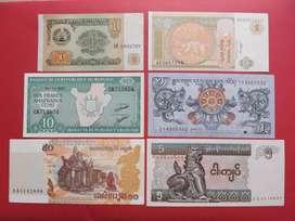 Uang Kertas Luar Negeri 6 Lembar