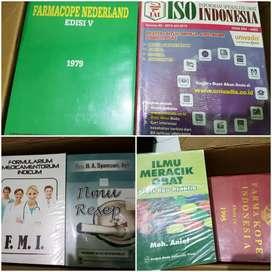 Buku Farmasi (FMS, FMI, FI III, FI IV, Ilmu Resep Syamsuni, dll.)