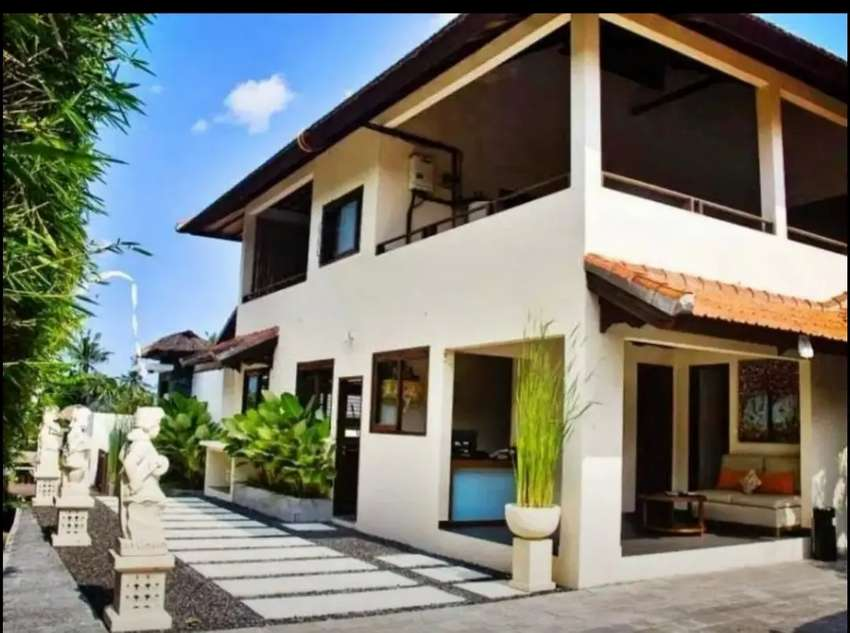 Dijual Villa Boutique Komersil Murah Discount 47%  di Canggu Bali