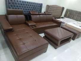Leatherite sofa set complete set