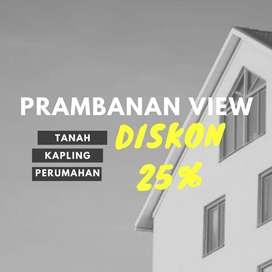 Kavling Perumahan Bangun Rumah Irit 150 Jt Area Candi Prambanan