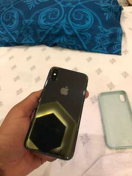 Iphone X 256 GB SPACE GREY WITH BOX 10/10 Along with box & accesories.