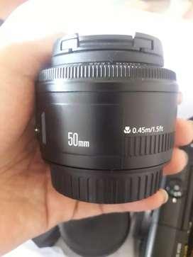 Lensa canon 50mm mark ll
