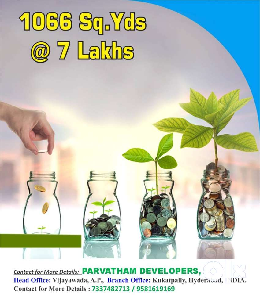 1066 Sq.Yds @ 7 Lakhs, 100% Clear Title, Govt. Approved, Get 3 Crores. 0