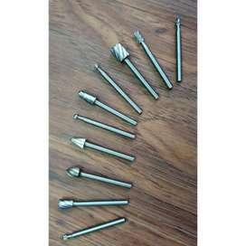 Mata Bor Tungsten Carbide Cone Spiral 10 PCS