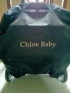 kereta bayi merek chloe baby
