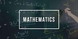 Individual tuitor available for maths 8 to 12 for cbse,icsc,igcse