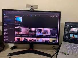 LG24MP59G. IPS Gaming Monitor