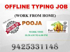 computer typing Job (work from home)