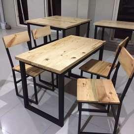 Meja dan Kursi Warkop / Cafe Terbaru