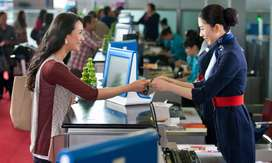 Urgent Hiring In Your Airport In Ground Staff Or Air Ticketing Apply.