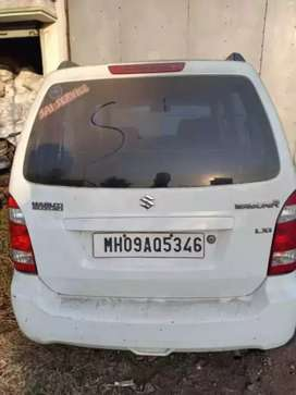wagon r in good condition..mh 09 white