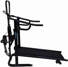 4 in 1 manual cardio treadmill