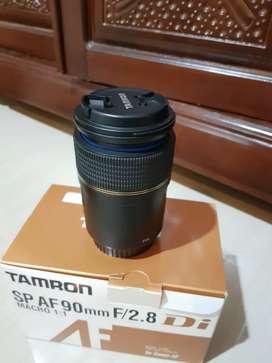 Lensa macro tamron for canon SP AF 90 F2.4