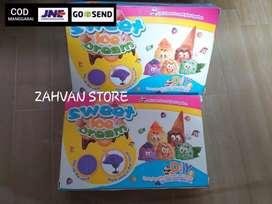 Mainan ice cream pasir set