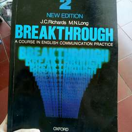 Breakthrough: A Course in English Communication Practice