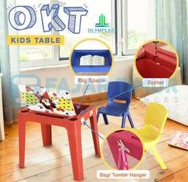 Set meja belajar plastik anak Olymplast