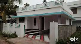 2.75 cent 750 sqft 2.bhk house at aluva paravur road thattampady