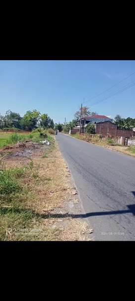 Tanah SHM 2300 m² Zona Kuning & Hijau Jelobo Wonosari Klaten