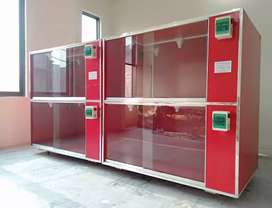 Fully-Automatic 500+ Chicks Capacity Brooders Are Available For Sale .