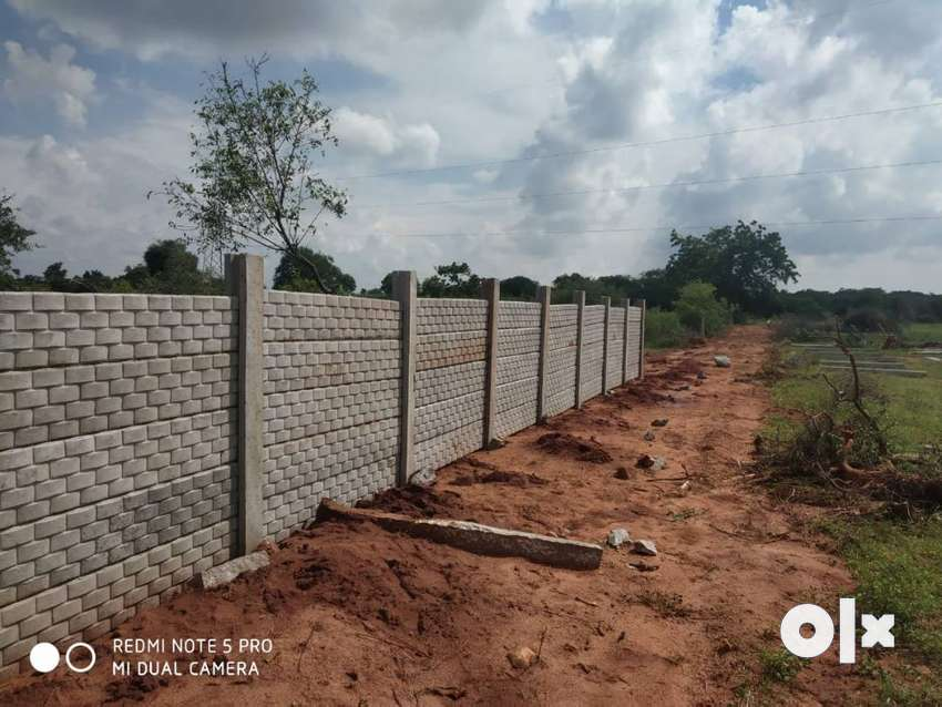 602 Sq Ft Clear Title Farm Land Plots for Sale near Srisailam Highway 0