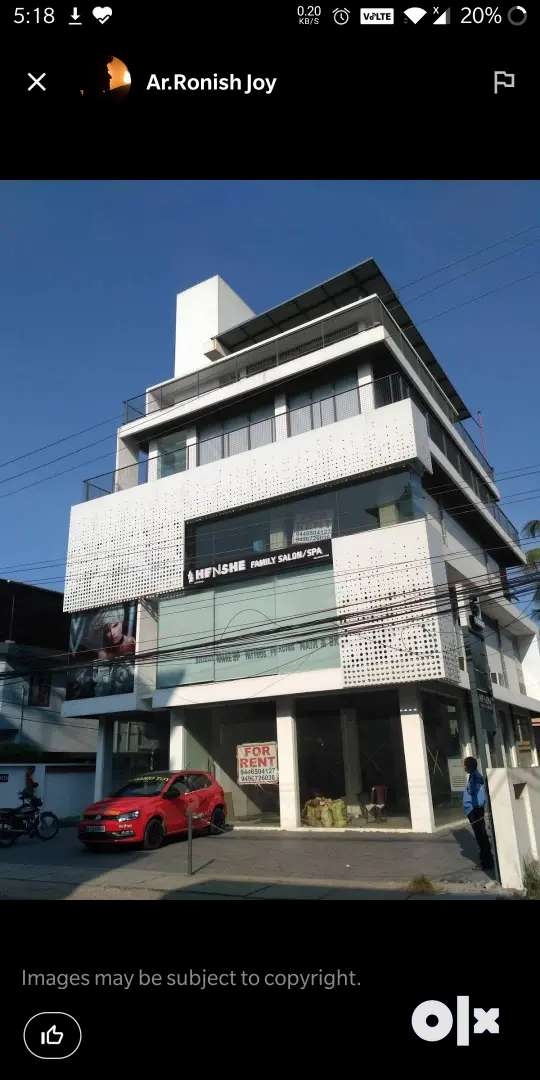 Palarivattom Commercial showroom GROUND floor 0