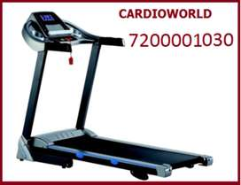 Motorized Treadmill with 3 Hp motor & 110 kg user weight for sale