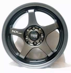 Jual velg HSR Ring 15 Untuk mobil Brio, agya, Calya, sigra Bisa credit