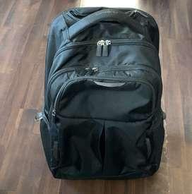 Samsonite wheeled backpack.