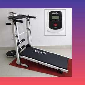 treadmill manual 5fungsi CT-674 Ii sepeda statis