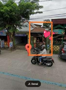 Disewakan Kios Pinggir Jalan Denai Medan (KHUSUS MUSLIM)