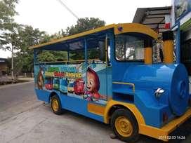 kereta mini wisata biru marsha free desain odong kereta siap usaha