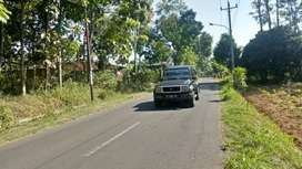 di kontrakan tanah seluas 600 m super strategis di Salatiga pribadi