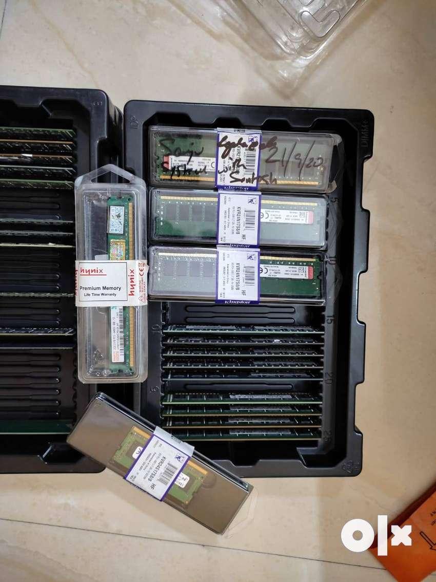 ddr2 ddr3 ddr4 ram available 2gb 4gb 8gb 16gb