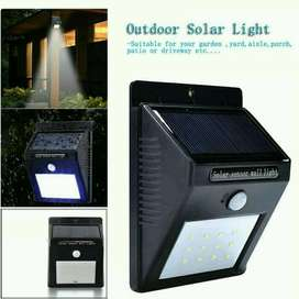 Lampu Emergency Outdoor + Solar Cell