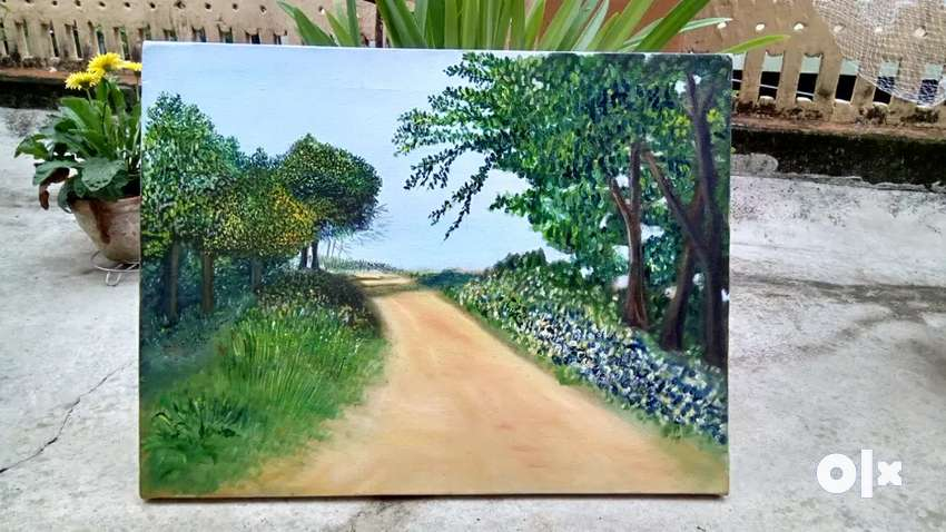 Oil painting on canvas price is negotiable 0