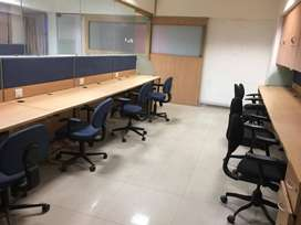 20 Seating Office For Rent Fully Furnished on CG Road Navrangpura