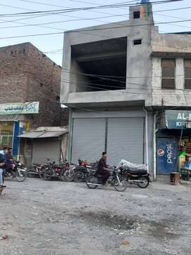 Two Storey Commercial Shop for Rent in Rahim Yar Khan