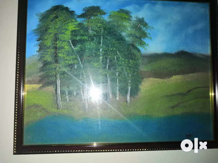 Original oil painting on Canvas for Home or Hotel Wall decor 0