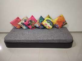 Indian Baithak with mattress(cushions not included)